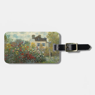 Claude Monet | The Artist's Garden in Argenteuil Luggage Tag