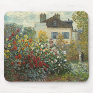 Claude Monet | The Artist's Garden in Argenteuil Mouse Pad