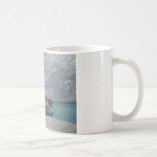 Claude Monet - The Beach at Sainte-Adresse Coffee Mug