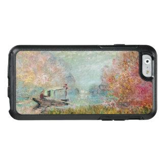 Claude Monet   The Boat Studio on the Seine, 1875 OtterBox iPhone 6/6s Case