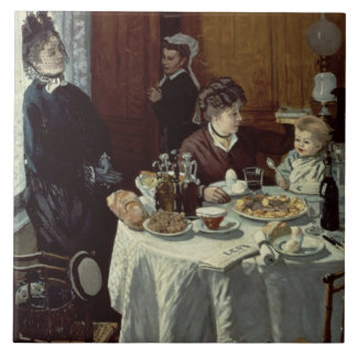 Claude Monet | The Breakfast Tile