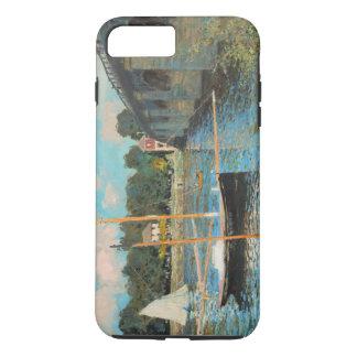 Claude Monet The Bridge At Argenteuil Vintage Art iPhone 7 Plus Case