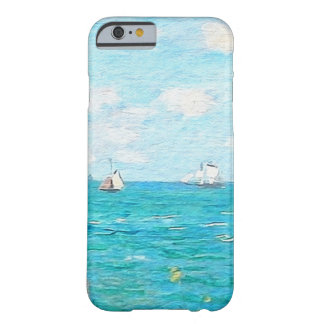 Claude Monet The Cabin At Saint-Adresse Fine Art Barely There iPhone 6 Case
