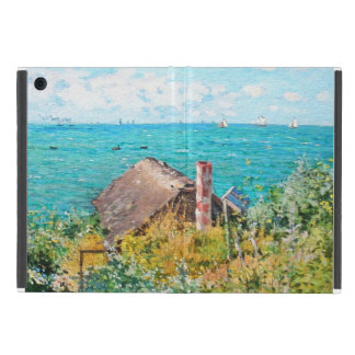 Claude Monet The Cabin At Saint-Adresse Fine Art Case For iPad Mini