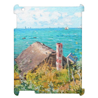 Claude Monet The Cabin At Saint-Adresse Fine Art Cover For The iPad