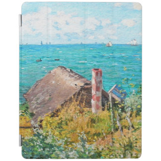 Claude Monet The Cabin At Saint-Adresse Fine Art iPad Cover
