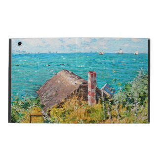 Claude Monet The Cabin At Saint-Adresse Fine Art iPad Folio Case
