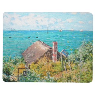 Claude Monet The Cabin At Saint-Adresse Fine Art Journal