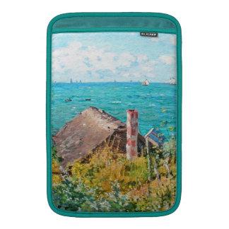 Claude Monet The Cabin At Saint-Adresse Fine Art MacBook Sleeve