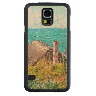 Claude Monet The Cabin At Saint-Adresse Fine Art Maple Galaxy S5 Slim Case