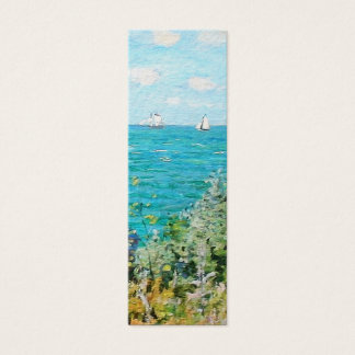 Claude Monet The Cabin At Saint-Adresse Fine Art Mini Business Card