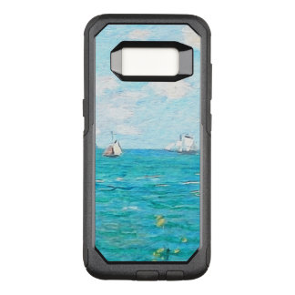 Claude Monet The Cabin At Saint-Adresse Fine Art OtterBox Commuter Samsung Galaxy S8 Case
