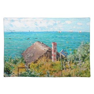 Claude Monet The Cabin At Saint-Adresse Fine Art Placemat