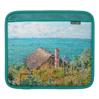 Claude Monet The Cabin At Saint-Adresse Fine Art Sleeves For iPads