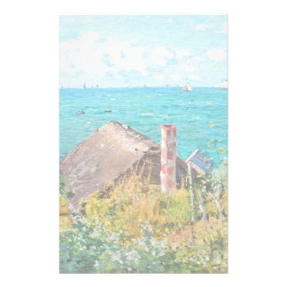 Claude Monet The Cabin At Saint-Adresse Fine Art Stationery