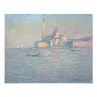 Claude Monet - The Church of San Giorgio Maggiore, Photo