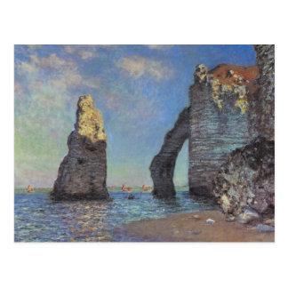 Claude Monet - The Cliffs at Etretat 1885 Postcard