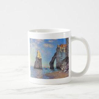 Claude Monet // The Cliffs at Etretat Classic White Coffee Mug