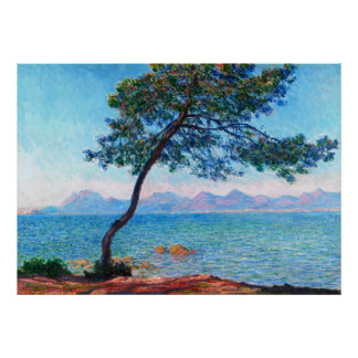 Claude Monet: The Esterel Mountains Poster