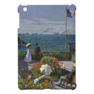 Claude Monet - The Garden at Sainte Adresse Art iPad Mini Cover
