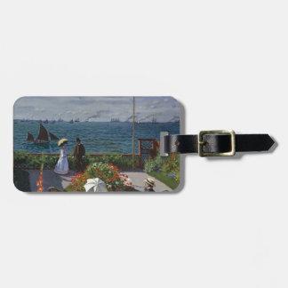 Claude Monet - The Garden at Sainte Adresse Art Luggage Tag