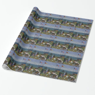 Claude Monet - The Garden at Sainte Adresse Art Wrapping Paper