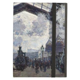 CLAUDE MONET - The Gare St-Lazare 1877 iPad Air Case