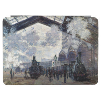 CLAUDE MONET - The Gare St-Lazare 1877 iPad Air Cover