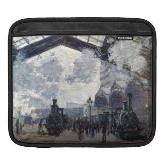 CLAUDE MONET - The Gare St-Lazare 1877 iPad Sleeve