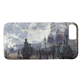 CLAUDE MONET - The Gare St-Lazare 1877 iPhone 8/7 Case