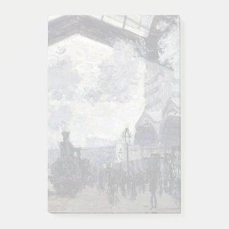 CLAUDE MONET - The Gare St-Lazare 1877 Post-it Notes