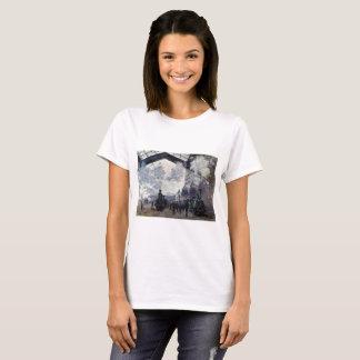 CLAUDE MONET - The Gare St-Lazare 1877 T-Shirt
