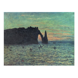 Claude Monet | The Hollow Needle at Etretat, 1883 Postcard