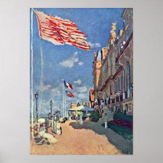 Claude Monet - The Hotel des Roches Noires Poster