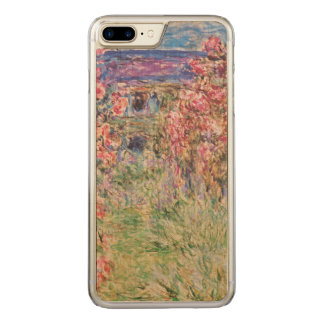 Claude Monet The House Among the Roses GalleryHD Carved iPhone 8 Plus/7 Plus Case