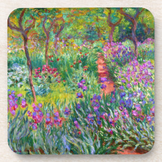 Claude Monet: The Iris Garden at Giverny Coaster