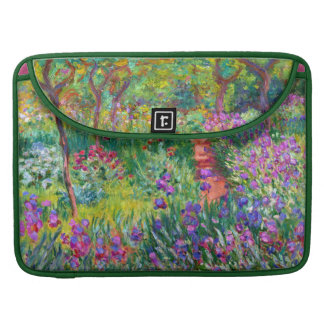 Claude Monet: The Iris Garden at Giverny Sleeve For MacBook Pro