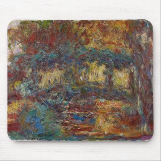 Claude Monet | The Japanese Bridge Mouse Pad