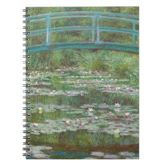 Claude Monet   The Japanese Footbridge, 1899 Notebook