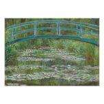 Claude Monet | The Japanese Footbridge, 1899 Poster