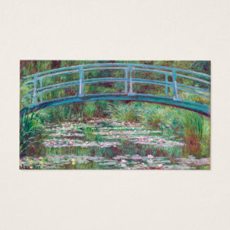 Claude Monet The Japanese Footbridge Business Card