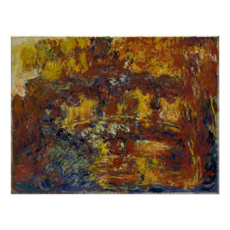 Claude Monet - The Japanese Footbridge Poster