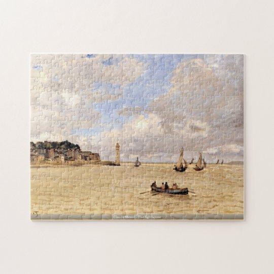 Claude Monet - The lighthouse Jigsaw Puzzle