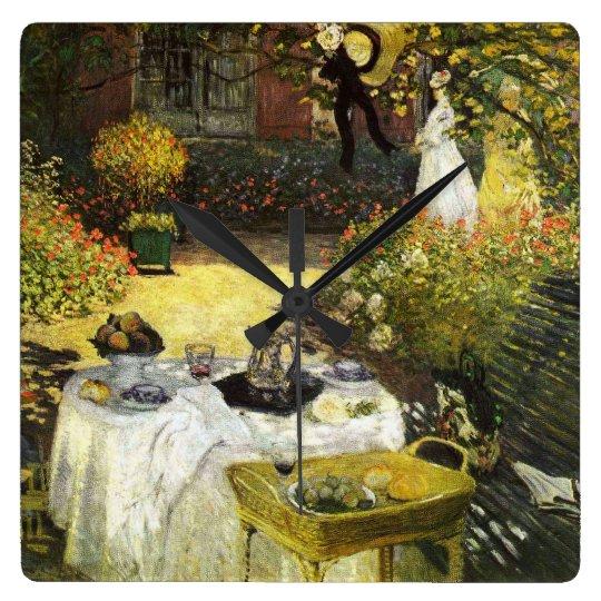 Claude Monet: The Lunch Wall Clock