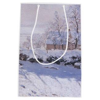 Claude Monet-The Magpie Medium Gift Bag