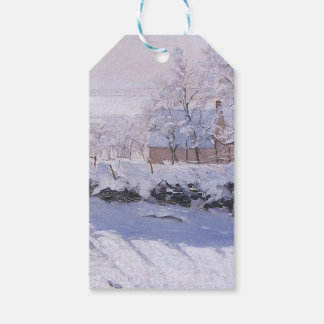 Claude Monet-The Magpie Pack Of Gift Tags