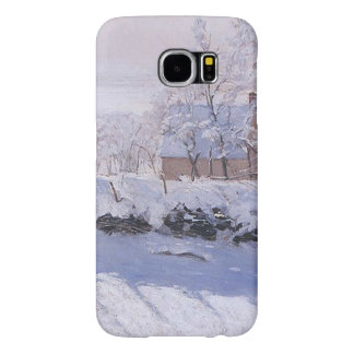 Claude Monet-The Magpie Samsung Galaxy S6 Cases