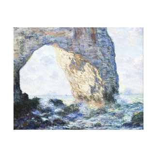 Claude Monet The Manneporte (Étretat) Canvas Print