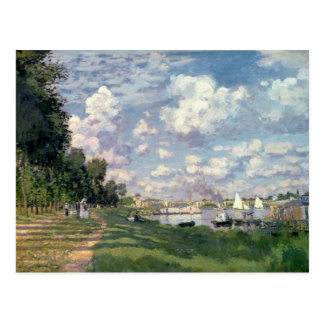 Claude Monet | The Marina at Argenteuil, 1872 Postcard