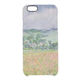 Claude Monet | The Poppy Field near Giverny, 1885 Clear iPhone 6/6S Case